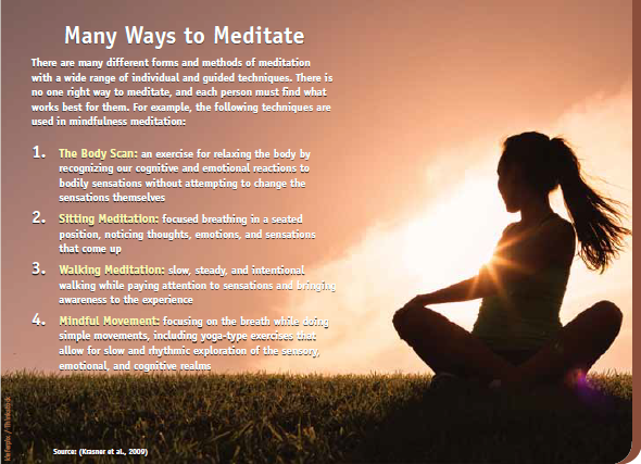Ways to Meditate
